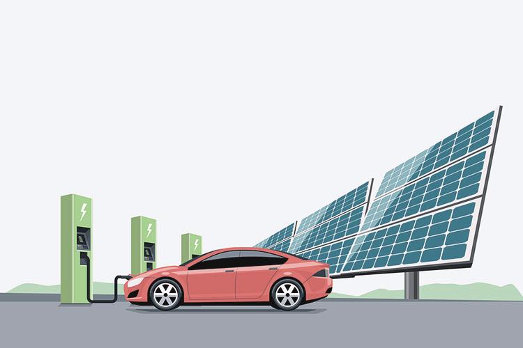 Solaranlage und E-Auto: Günstig tanken und klimafreundlich fahren